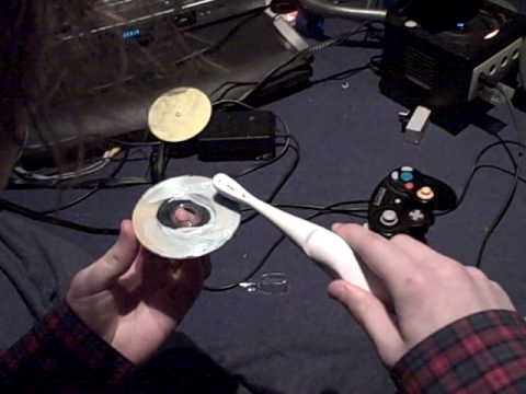 how not to fix a gamecube disc