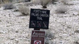 Canadian missing in California desert