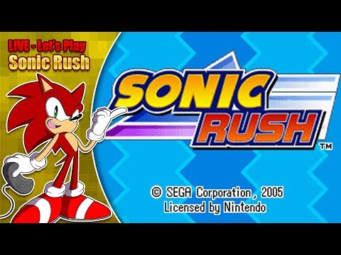 Let's Play Sonic Rush (LIVE on Saturday 16th June '18 8pm BST)