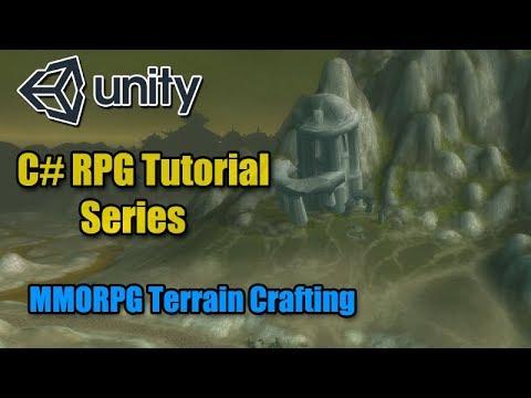 Unity RPG Tutorial - MMORPG Style Terrain Crafting ( C# ) ( Unity 2018 )