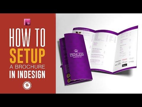 ADOBE INDESIGN BROCHURE FOR PRINT SETUP - Adobe InDesign Tutorial