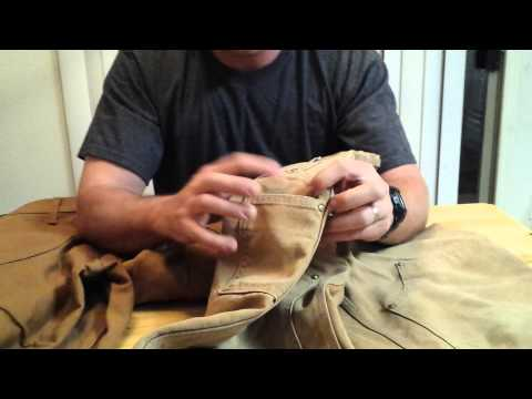Carhartt vs Roundhouse duck jeans