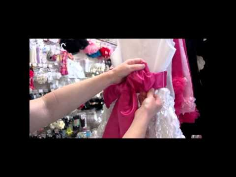 Reshaping a Dress Bow and Reshaping a Boutique Hairbow