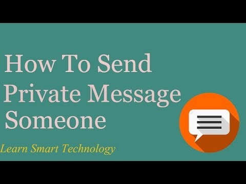 How To Send Secret Message in Facebook Account