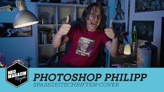 Photoshop Philipp und das Spaßzeitschriften-Cover | NEO MAGAZIN ROYALE mit Jan Böhmermann - ZDFneo