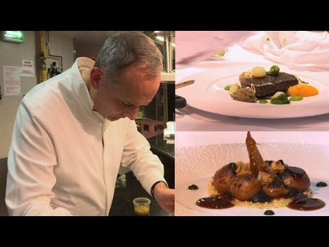 Le Cinq restaurant in Paris gets third Michelin star