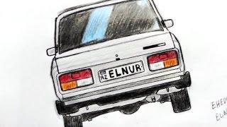 VAZ-2107 masin sekli nece cekilir(Ehedov Elnur)Как нарисовать ВАЗ-2107_Рисуем семерку поэтапно   Production Music courtesy of Epidemic Sound!