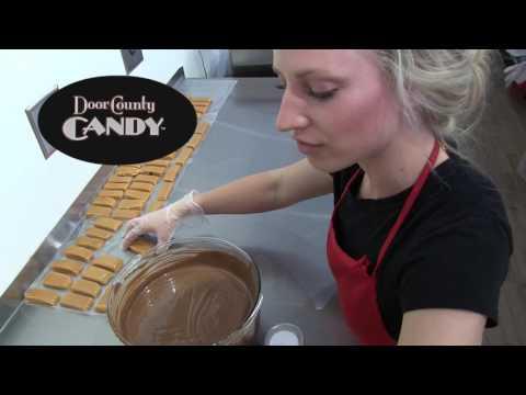 Making Sea Salt Caramels  | Door County Candy | Sturgeon Bay