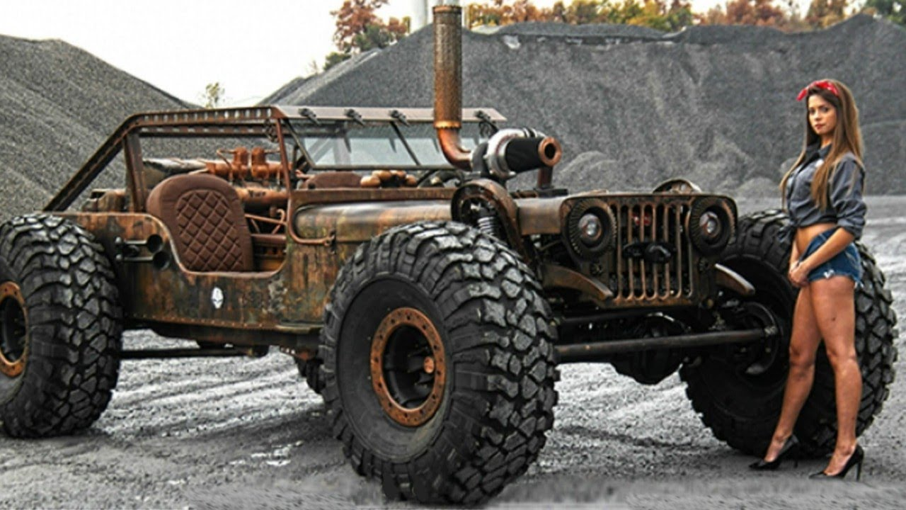Extreme Jeep Willys Rat Rod That You Need to See