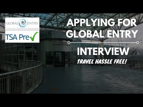 GLOBAL ENTRY INTERVIEW TRIP TO PDX AIRPORT