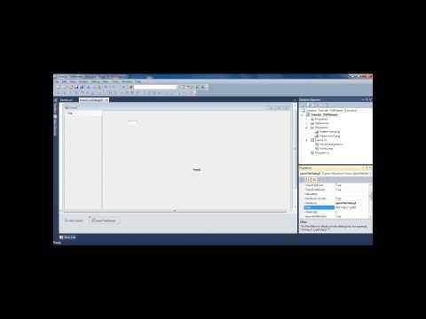 Visual C# Tutorial - Making a PDF viewer