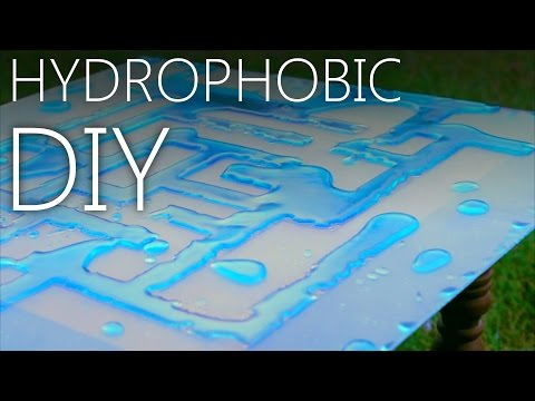 DIY Hydrophobic Coating [Never Wet, Ultra Ever Dry Replacement]