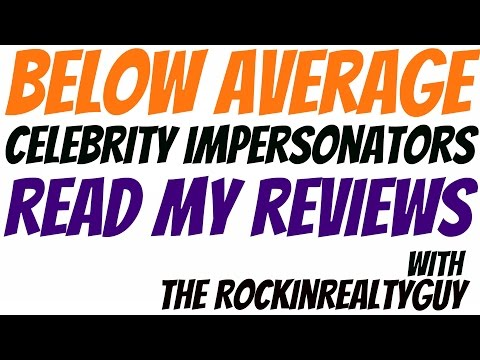 Below Average Celebrity Impersonators Read My Reviews -  Harry Potter Edition