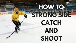 Mhh Hockey Tutorials How To Catch And Shoot On Your Strong Side