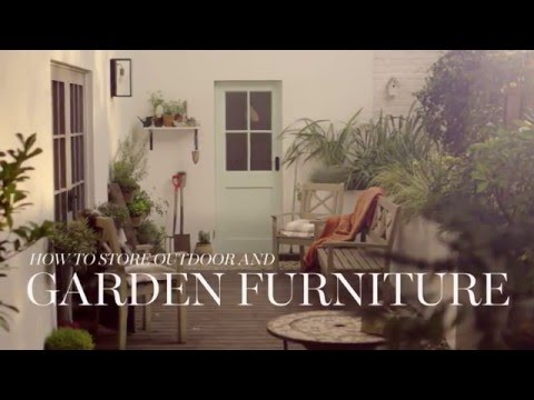 M&S Home: How To Store Outdoor & Garden Furniture