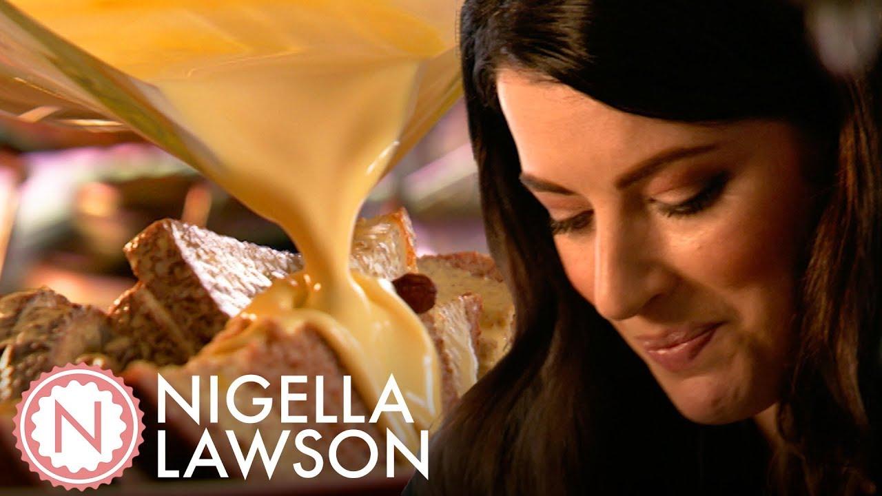 Nigella Lawson's Ginger Jam Bread and Butter Pudding   Nigella Bites