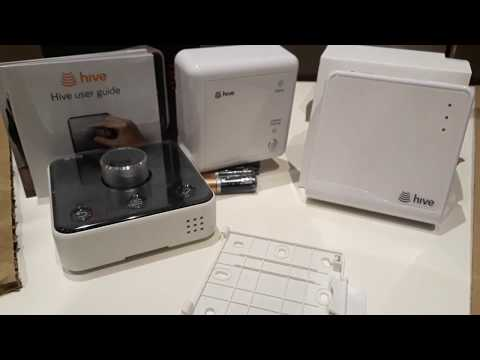Hive Active Heating  unboxing 2017