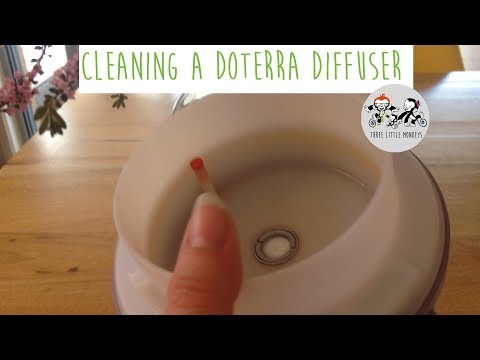 CLEANING THE DOTERRA DIFFUSER!!!