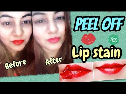 DIY Peel Off Lipstick / Lip Stain | Demo in Live Video | JSuper Kaur