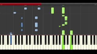 Ana Mena Ahora Lloras tu CNCO piano midi tutorial sheet partitura cover app karaoke