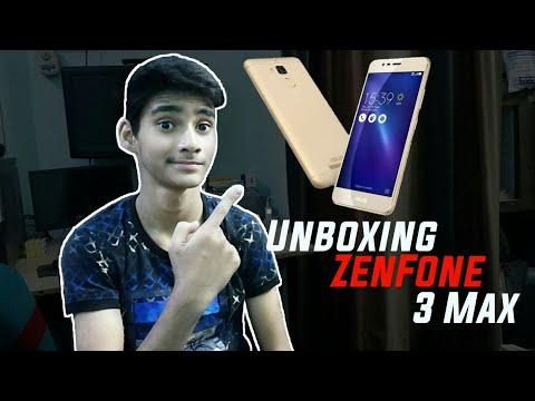 Unboxing Asus ZenFone 3 Max smartphone   ZenFone 3 max   Techno Buzzer