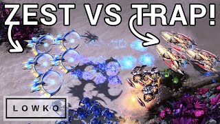 StarCraft 2: Trap ZERGS Zest with his Protoss!
