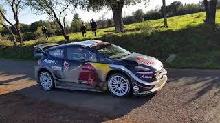 Test Tour de Corse WRC 2018 M-sport Sébastien Ogier & Julien Ingrassia Corsica