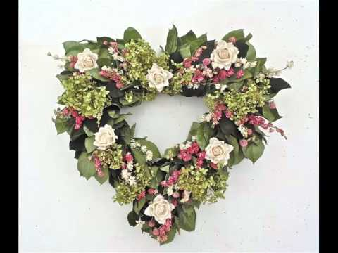 Funeral Flowers Heart Designs | Picture Collection Of Flower Hearts Collection