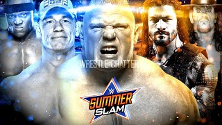 WWE Summerslam 2018 Match Card Predictions Highlights ! Summerslam 2018 Matches !