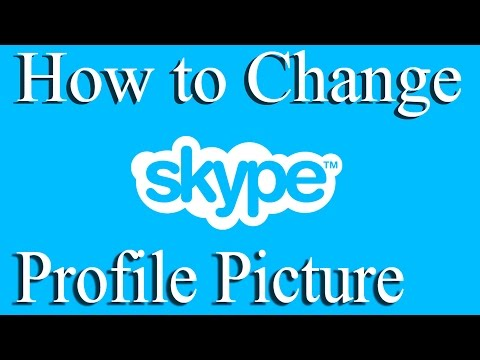How to Change Your Skype Profile Picture 2015