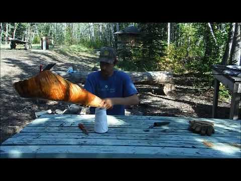 Makeing A Birch Bark Moose Call