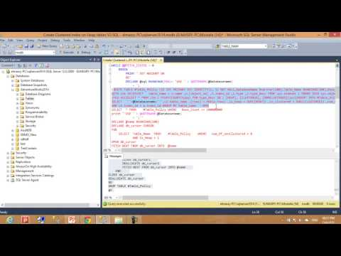Create Clustered index on all heap tables by on single click