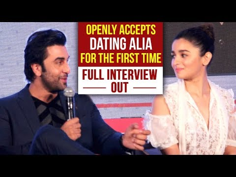 Ranbir Kapoor FINALLY ADMITS Being In A Relationship With Alia Bhatt