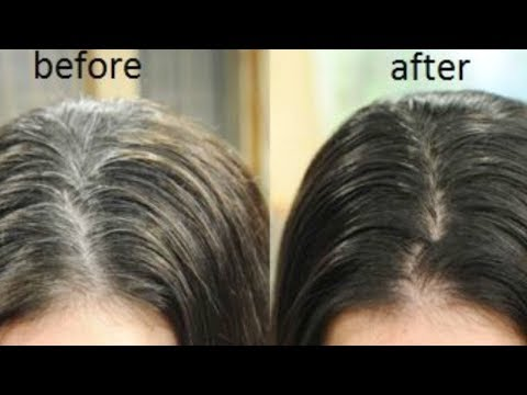 Natural Hair Dye for Instant Black Hair | Turn white to black hair in 1 minute | JSuper Kaur