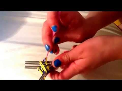 How to do starburst loom (ON TWO FORKS)!!!