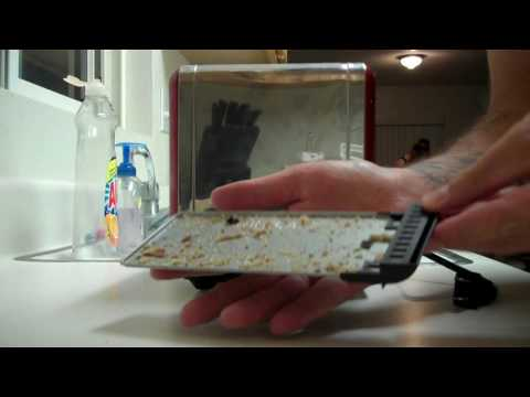 How to clean your toaster's butt