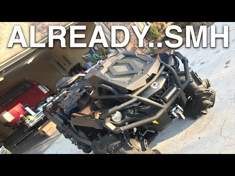 This is what a $15,000 2017 Cam-Am Outlander 1000 XMR Gets You..