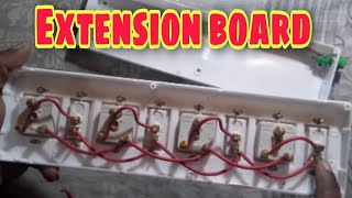 How To Make Exetension Board With Ind Fuse At Home