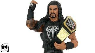 WWE Roman Reigns Elite 45 Mattel Toy Unboxing & Review!!