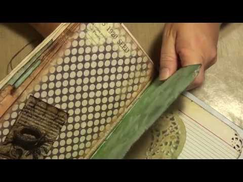 How to bind a journal using the pamphlet stitch pt1