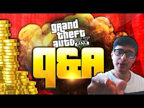 FACECAM Q&A New (GTA 5 Heist Missions, Challenges & Animals in GTA 5 Online!?)