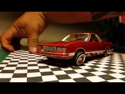LS el Camino model car hopper