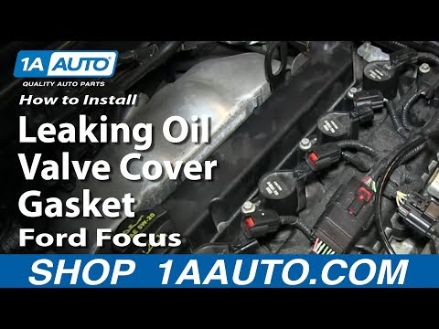 How To Install Replace Fix Leaking Oil Valve Cover Gasket Ford Focus