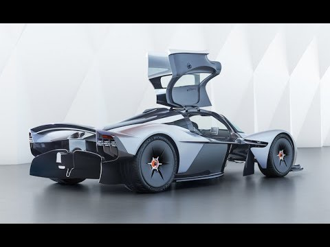 Aston Martin Valkyrie - a hyper-performance car inspired by the cars!
