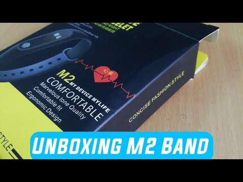 Unboxing M2 Band   Unboxing M2 Fitness Band   Techno Buzzer