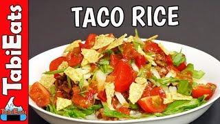 How to Make TACO RICE (Okinawan Recipe)