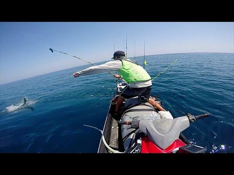 JetSki Fishing for Cobia & Mahi  |  GoPro