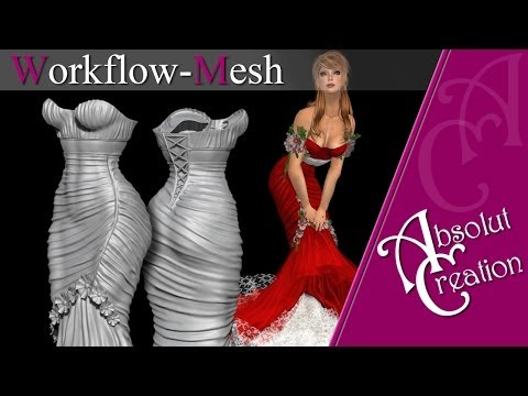 mesh w1 zbrush for second life