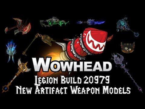 Legion Build 20979 - New Artifact Weapon Models