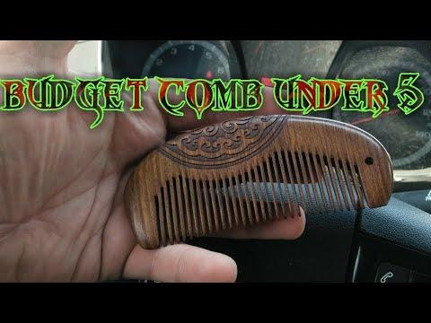 5$ yoziron sandle wood beard comb?